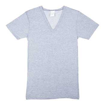 Adult Knitted V-Neck T-Shirt